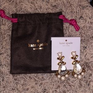 Dangly Kate spade earrings